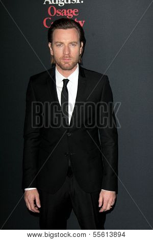 LOS ANGELES - DEC 16:  Ewan McGregor at the