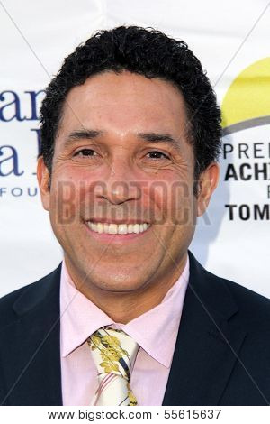 LOS ANGELES - MAY 18:  Oscar Nunez at the 6th Annual Compton Jr. Posse Gala  at Los Angeles Equestrian Center on May 18, 2013 in Los Angeles, CA