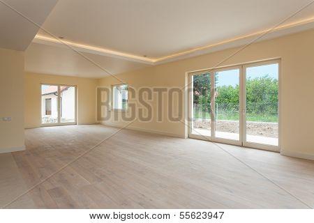 New Construction, Empty Room