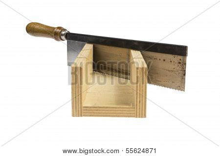 Handsaw On White