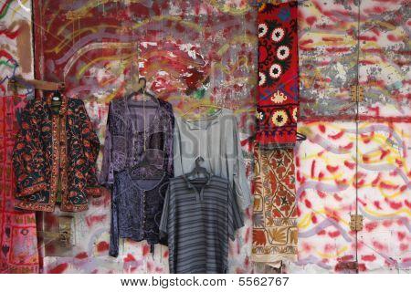 Farben in der Altstadt von jerusalem