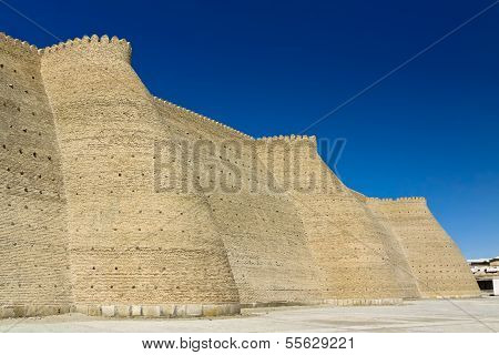 The Ark Fortress In Bukhara, Uzbekistan