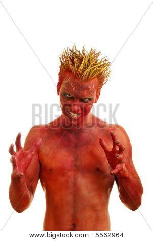 Demônio vermelho