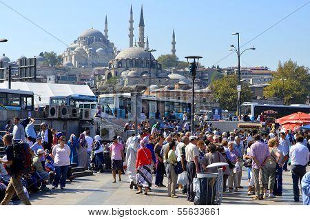Istanbul's Eminonu quarter
