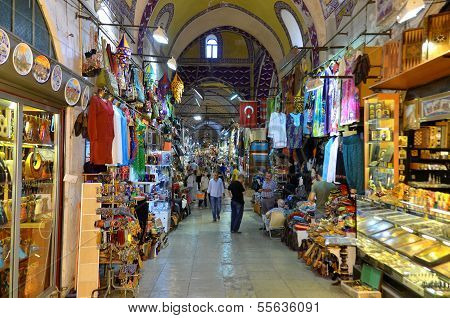 Sell man in the Grand Bazaar
