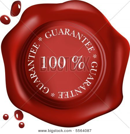Wax Seal 100% Guarantee