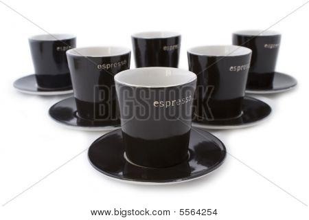 6 Espresso Cups