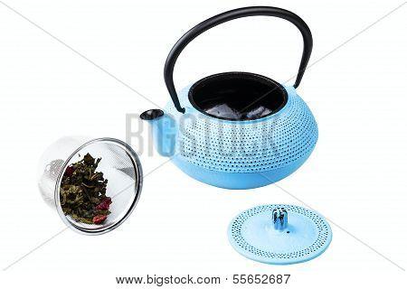 pig-iron teapot