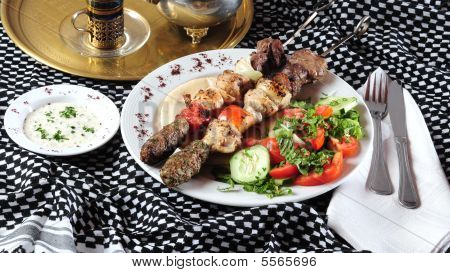 Mixed Shish Kebab