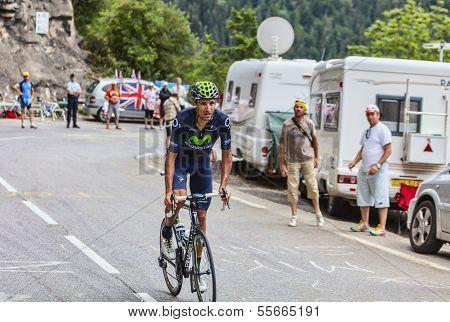 Ruben Plaza Molina Climbing Alpe D'huez