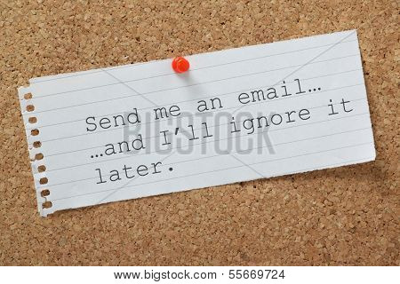 Dealing With Email