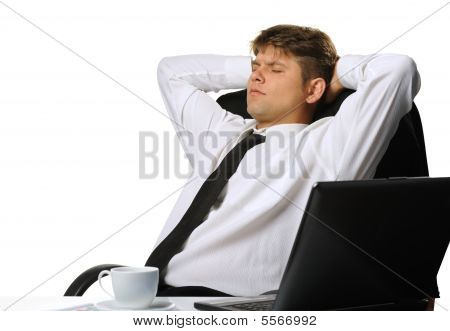 The Relaxed Businessman