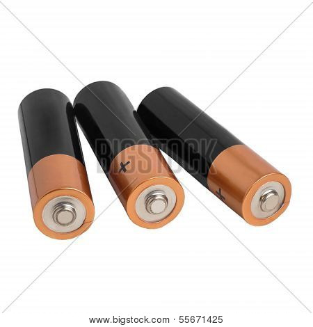 battery isolated on white background