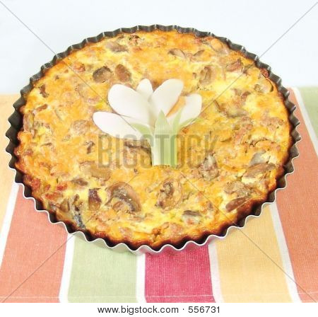 Meat Quiche