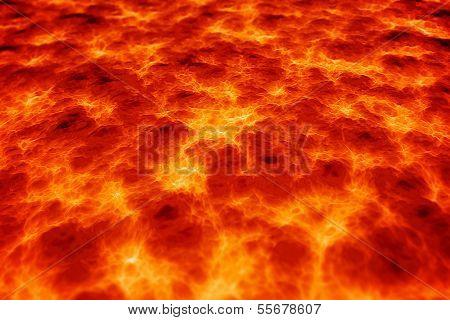Magma lava background