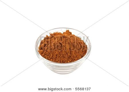 five spice powder in glass bowl