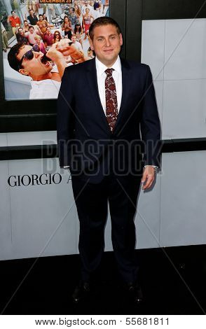 NEW YORK-DEC 17: Actor Jonah Hill attends the