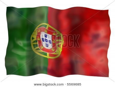 Vintage Portugal Flag