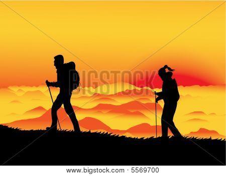 Sunset Climbers