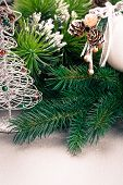 Christmas Decoration With Fir Branch