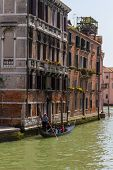 stock photo of tenement  - Venice - JPG
