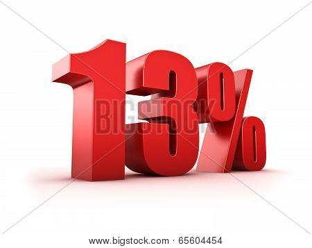 13 Percent