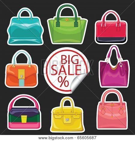 Multi-coloured Fashion Women's Handbag.big Sale