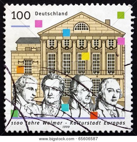 Postage Stamp Germany 1999 Weimar, 1999 European City Of Culture