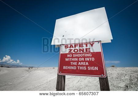 Safety Zone Desert