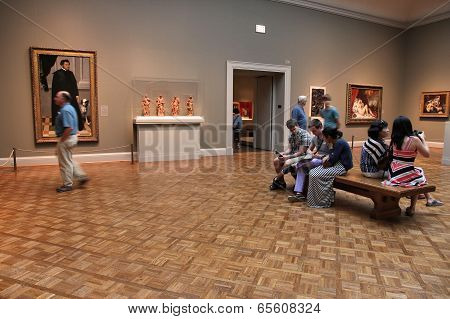 Chicago Museum Visitors