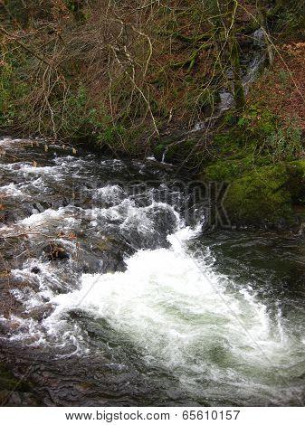 Stream Landscape Waterfall