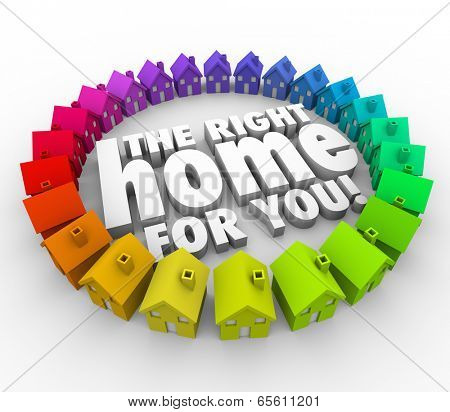 The Right Home for You surrounded houses perfect property to buy
