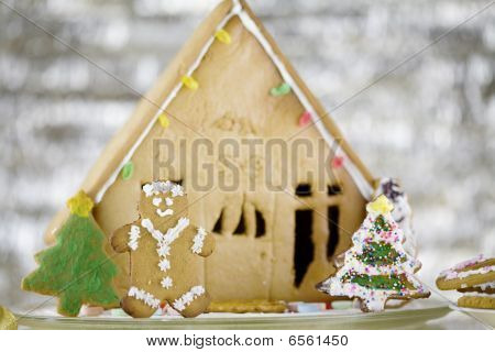 Bonito Gingerbread House