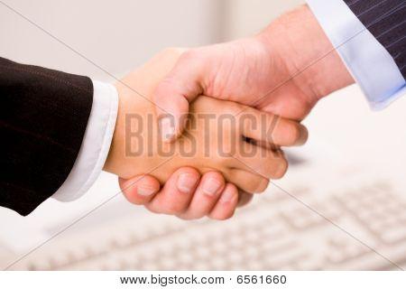 Machen eine Vereinbarung