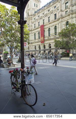 Bicycle Outside Gpo