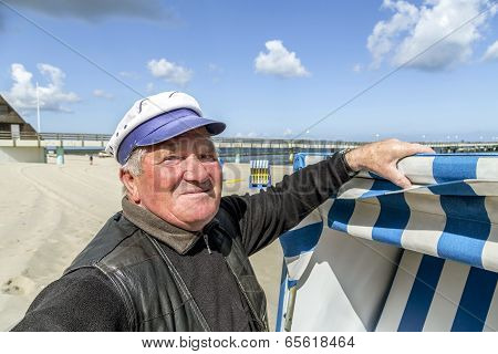 Owner Of The Beach Chair Opens The Beach Season