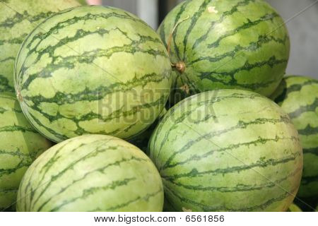 Fresh Raw Watermelon