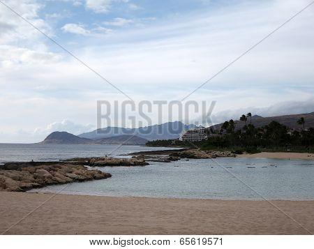 Beach Lagoon At Ko Olina