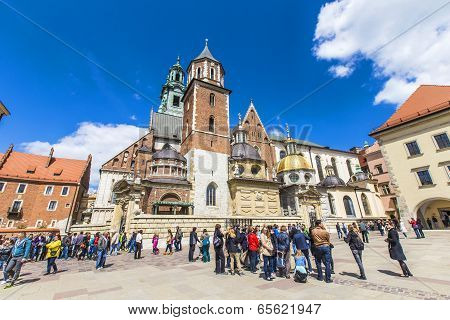 Archcathedral Basilica Of Saints Stanislaus And Wenceslaus On The Wawel Hill