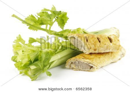 Celery And Sausage Roll