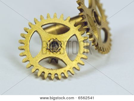 Two Old Gears From Hours