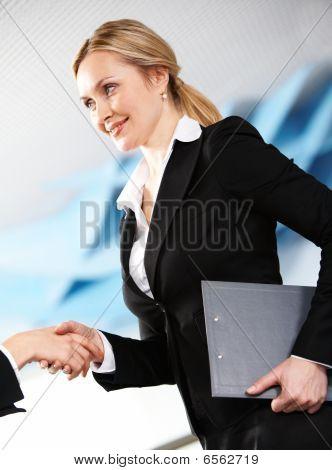 Striking Business Deal