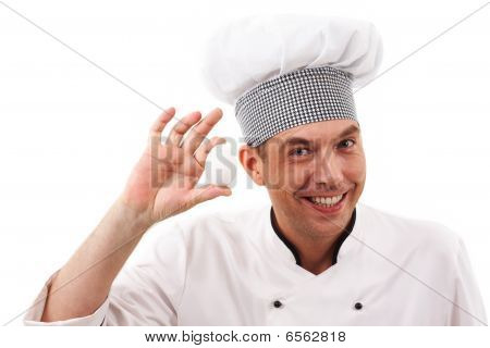 Handsome Cook