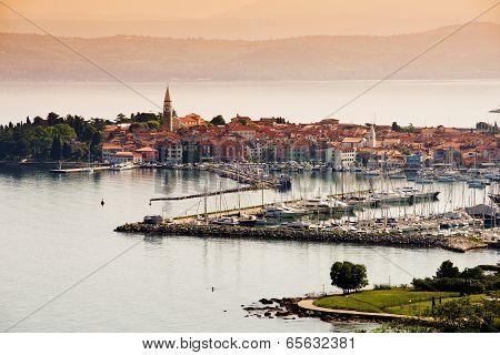 Town Izola, Slovenia