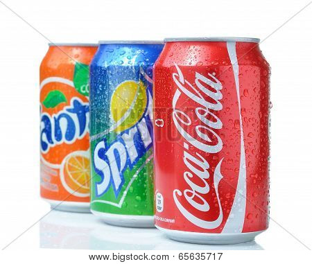 Coca-Cola Fanta and Sprite