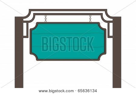 Wooden Sign-board