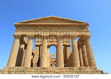 ancient ruins of Valley of temples