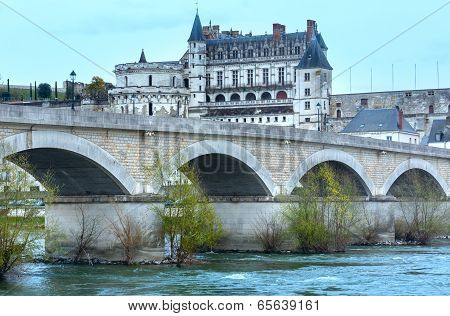 Amboise Castle Spring View (france)