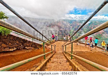 Waimea Canyon, Kauai Island, Hawaii, USA