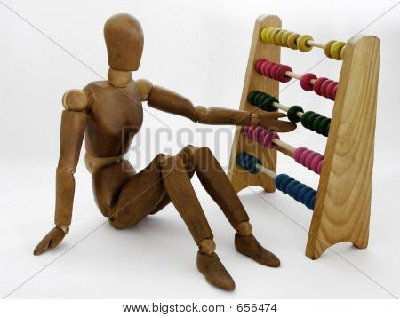 Dummy With Abacus
